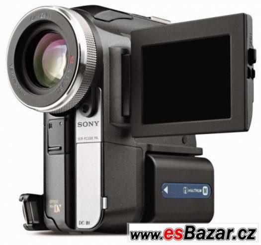 Sony DCR-PC330e - špišková kamera na miniDV