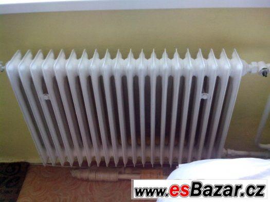 Sháním článkový plechový radiátor
