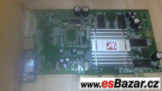 prodam grafickou kartu 256 MB typu AGP