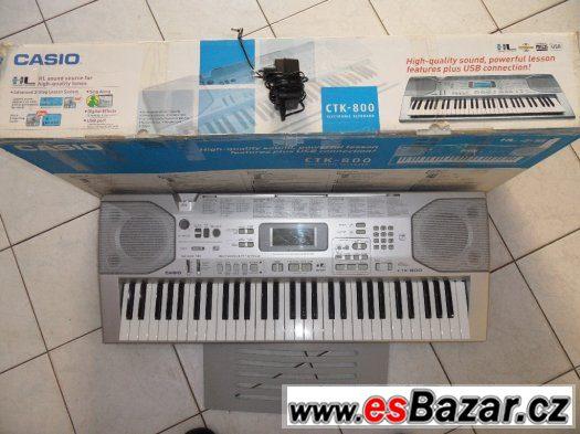 Casio CTK 800 - klávesy