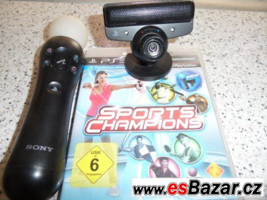 SONY PS3 - Playstation Move + HRA