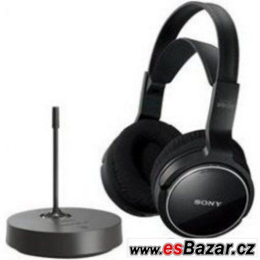 NOVÉ bezdrátová sluchátka Sony MDR-RF81 BOMBA CENA MOC 1590.