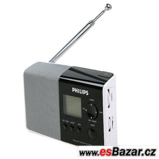 NOVÉ přenosné rádio Philips AE1850 BOMBA CENA  MOC 890.-Kč