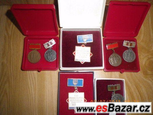 Prodám medaile