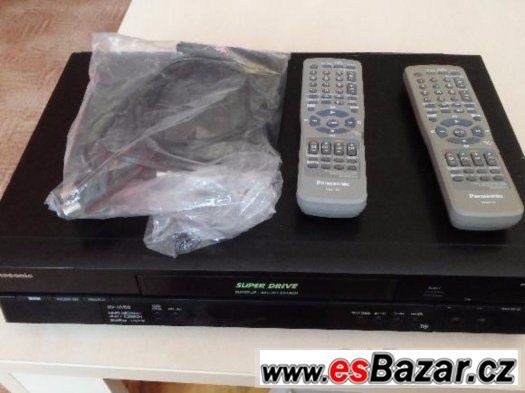Prodám videorekorder PANASONIC  6 hlavý, HIFI, stereo