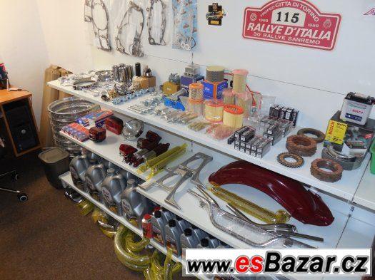 Prodám nové díly na motocykly JAWA, ČZ, SIMSON, MZ...