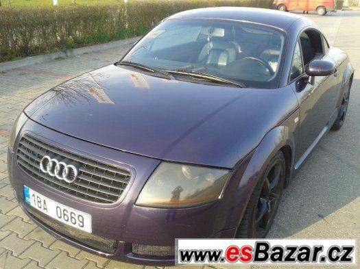 Audi TT 1.8T 165kw 4x4 6kvalt hudba Bose
