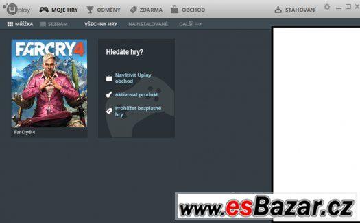Prodám/Vyměním Uplay s Far Cry 4 na PC