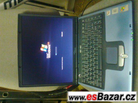 Prodám starší ale funkční notebook Fujitsu Siemens 1,2ghz