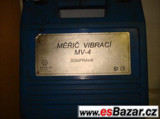 Měřič vibrací MV-4