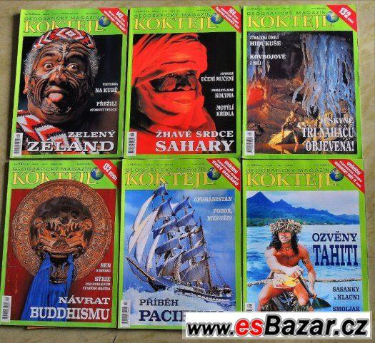 Koktejl geografický magazín roč. 2003, 2002