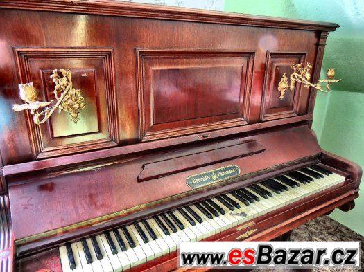 Pianio Gebrüder Hansmann r.v. 1897