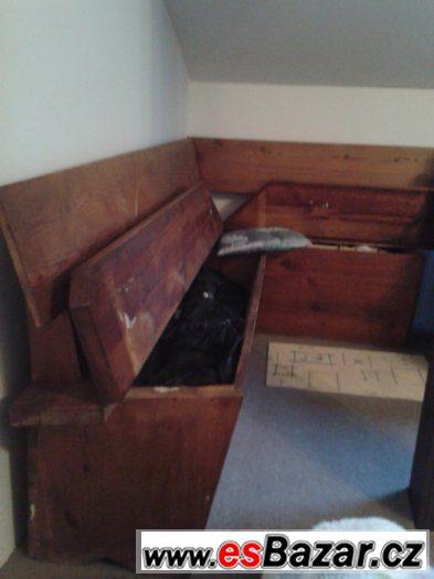 Prodám rohovou lavici