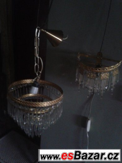 Lustr a lampička