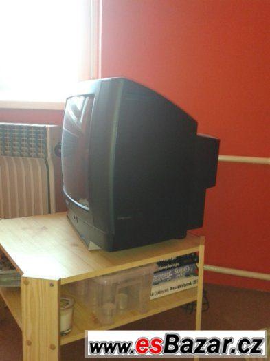 Prodám televizi a DVD přehrávač