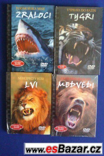 Prodej 4 DVD z edice Predátoři