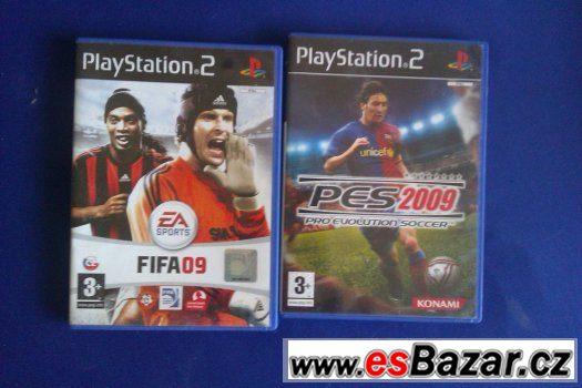 Prodej hry na PS2 - Pes 2009