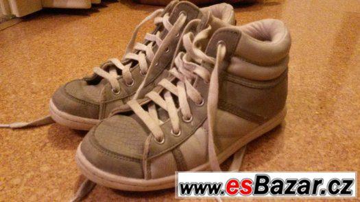 Tenisky Zara - velikost 34 - šedá