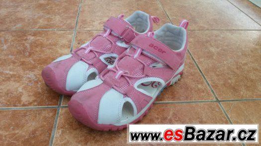 Růžové letní tenisky s průduchy - velikost 34