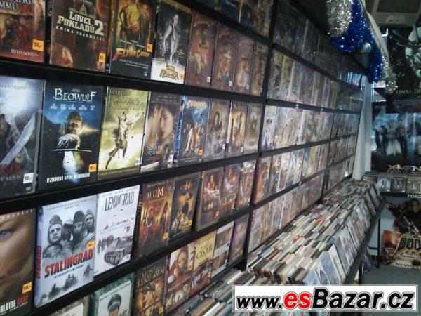 Prodej zař. půjčovny DVD