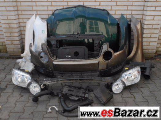 Skoda Yeti Dily na Predek Airbagova Sada Chladice
