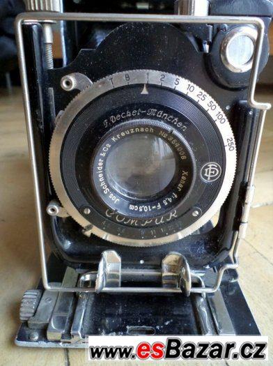 Starožitný fotoaparát IHAGEE Steenbergen & Co. Dresden