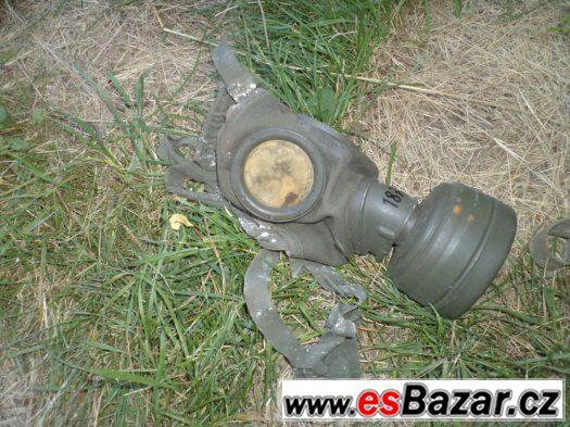 Prodám válečnou německou plynovou masku