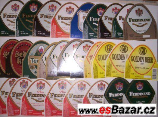 pivní etikety Benešov