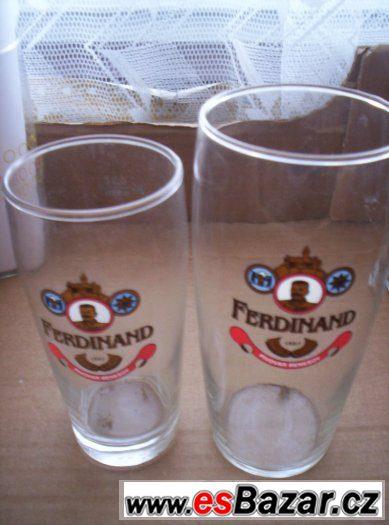 pivní sklo 7ks