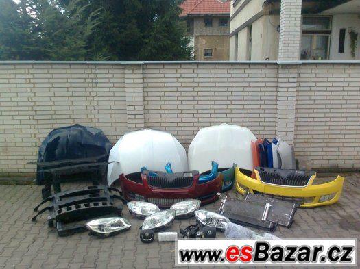 Skoda Fabia 2 Roomster Dily na Predek Airbagova sada Chladic