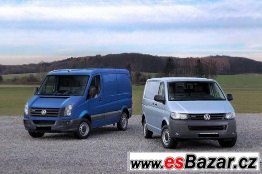 Koupim Volkswagen  Crafter,Transporter,5 Mist
