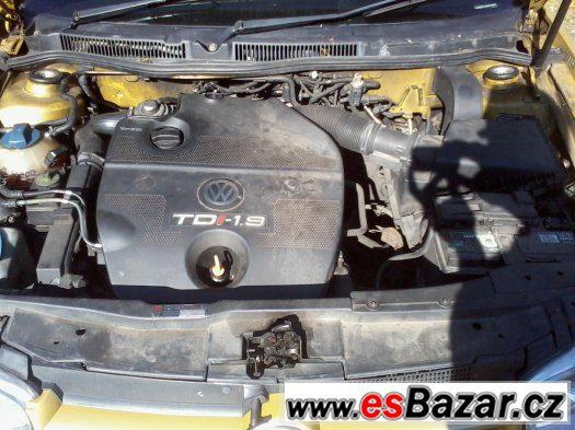Vw Golf IV 1,9 TDI 81 kw, veškeré náhradní díly