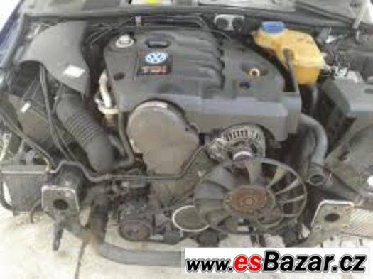 Motor 1.9TDi AWX 96 KW VW Passat Š.Superb