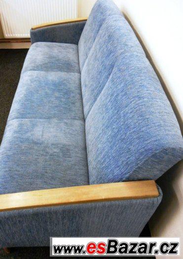 SEDACÍ SOUPRAVA -  sedačka GALANT + křeslo + taburet