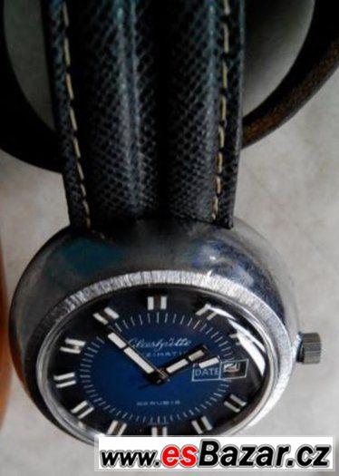 GUB Glashütte Spezimatic, kalibr 75, automatický nátah