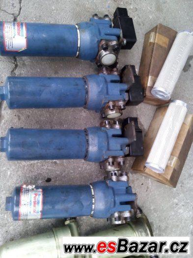 nové hydraulické filtry