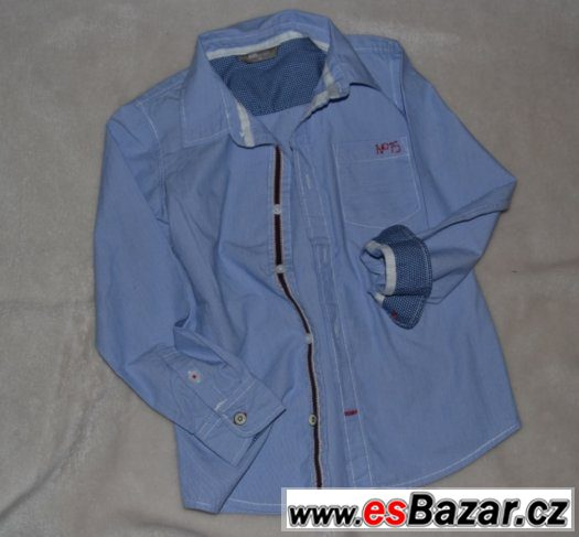 Riflová košile