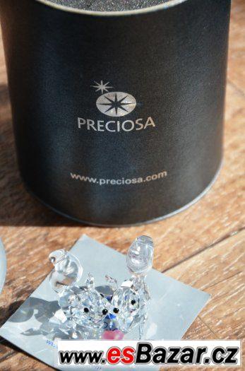 Křišťálové figurky Preciosa