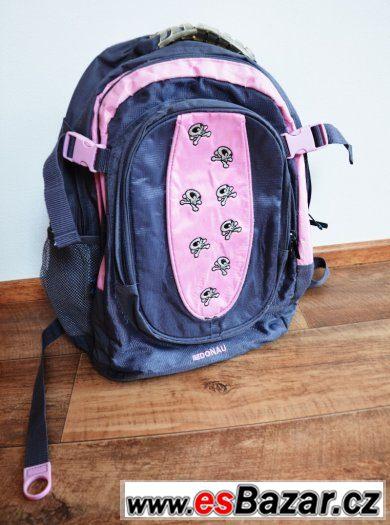 Školní batoh pro malé rockerky