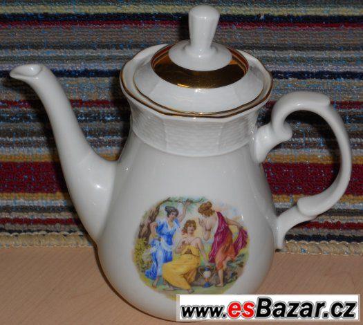 porcelánový kávový servis - Thun - Tři Grácie