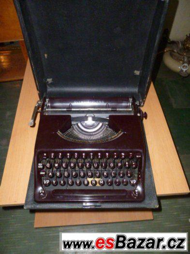 psací stroje
