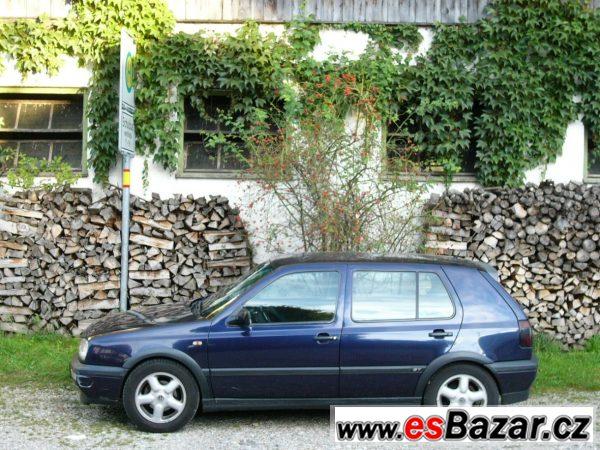 Prodám VW Golf III. 1.6 GT, 101 PS