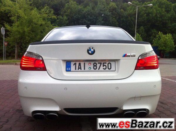Prodám BMW M5 - luxusní výbava