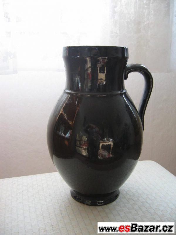 Prodám keramický glazovaný džbán