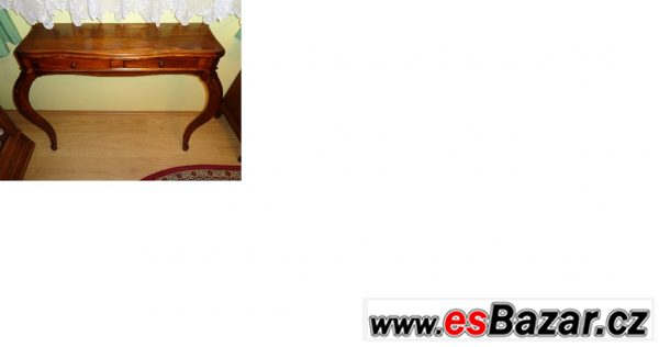 Prodám konzolový stolek - masiv