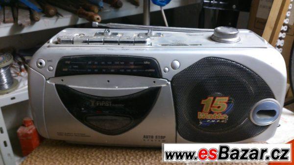 Prodám radiomagnetofon
