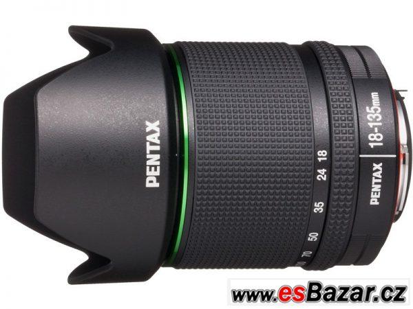 Prodám objektiv Pentax DA18-135