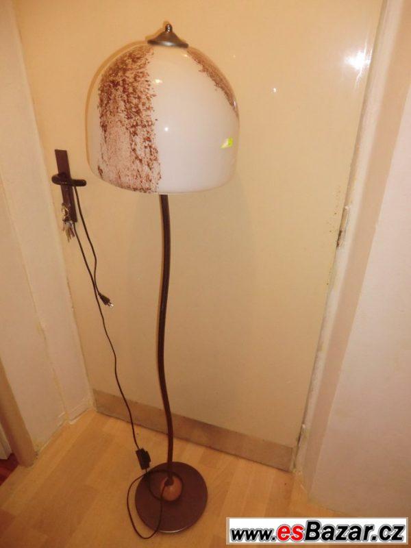 Prodám lampu a zrcadlo