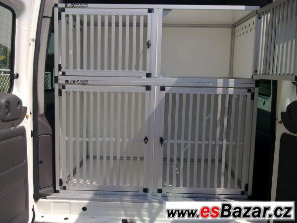 Přepravní boxy na psi