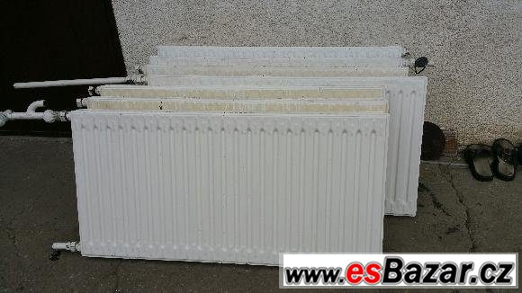 Prodám deskové radiátory